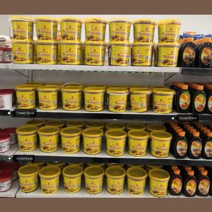 Delica peanut butter on our client's shelves